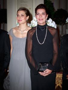 Charlotte Casiraghi & Caroline von Monaco