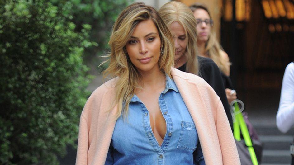 Rundum glücklich: Kim Kardashian fühlt sich wohl in ihrem Körper