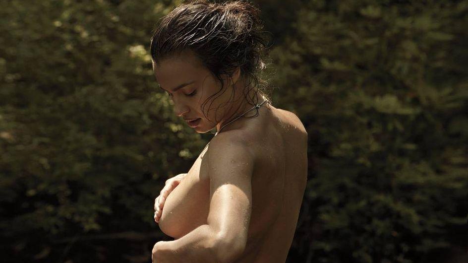 Irina Shayk : Topless pour V Magazine (Photos)