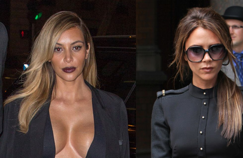 Kim Kardashian looking to emulate Victoria Beckham's fashion success?