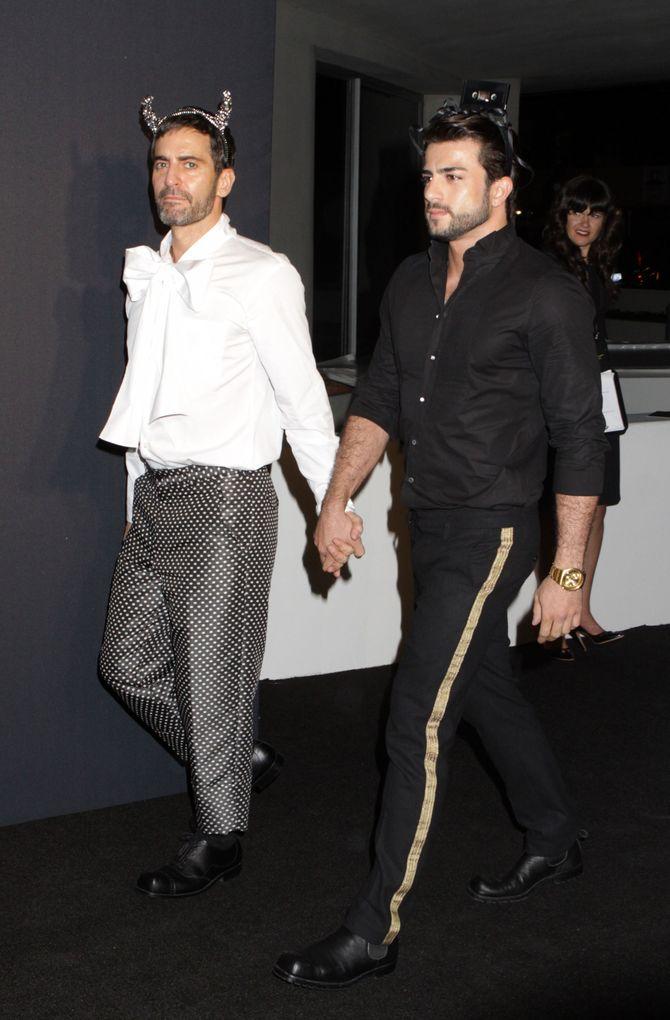 Marc Jacobs y su novio Harry