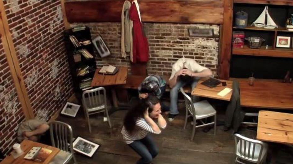 Carrie : Une caméra cachée flippante pour promouvoir le film (vidéo)