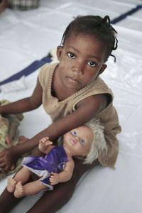 Girl in Liberia