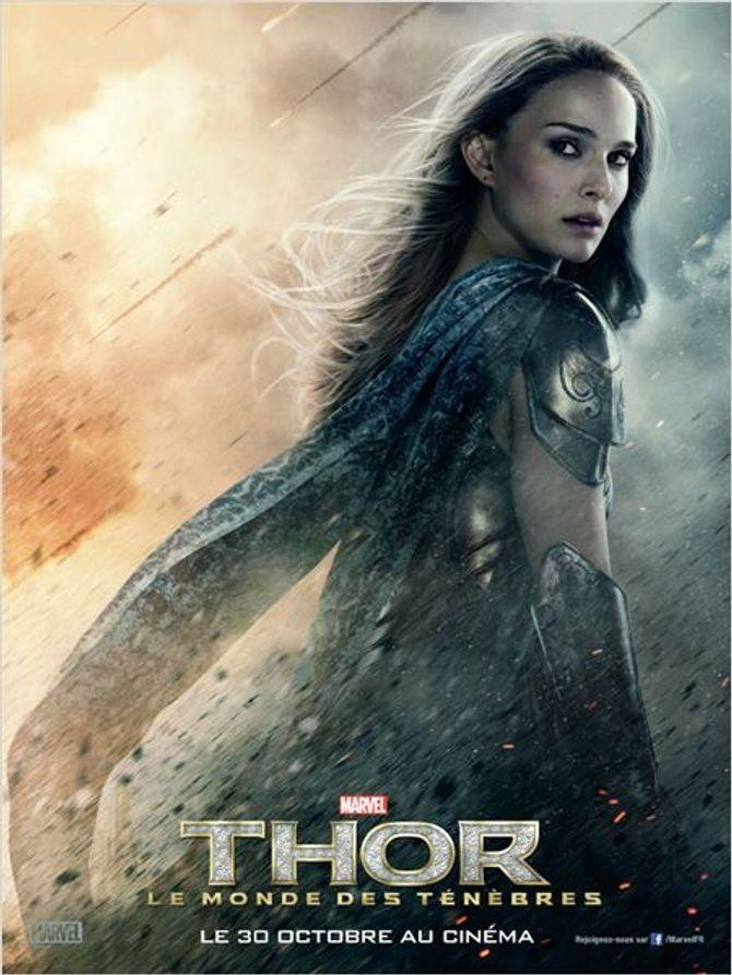 Natalie Portman dans Thor, le Monde des ténèbres