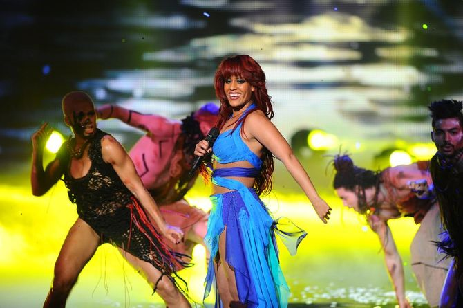 Amel Bent NRJ Music Awards 2013