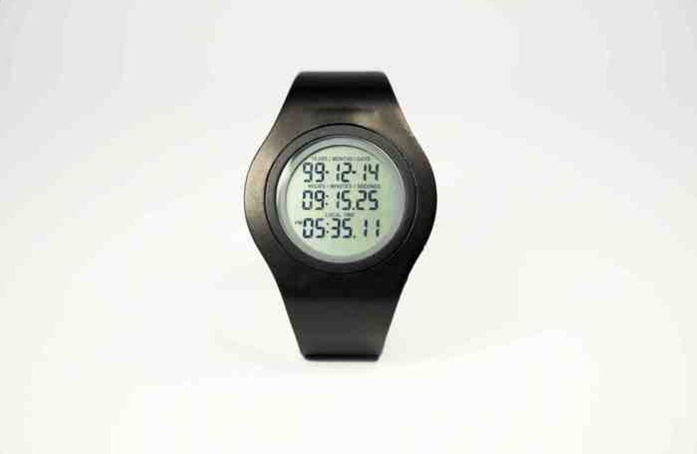 Insolite : Une montre indique combien de temps il vous reste à vivre !
