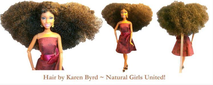 Natural Hair Doll