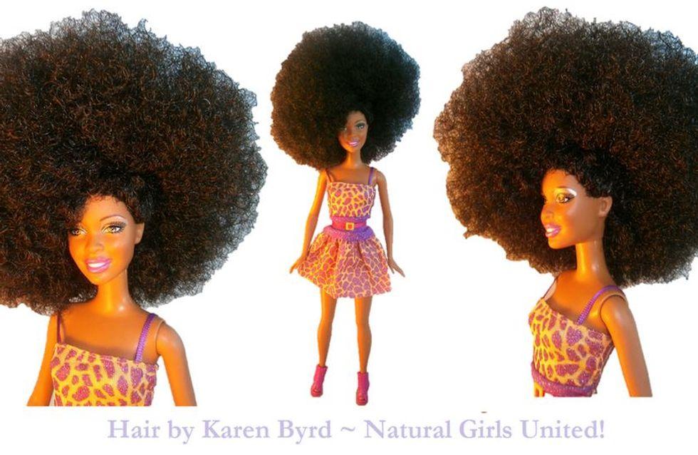 """""""Natural Hair Doll"""", la Barbie avec des coupes afro ou des dreadlocks !"""