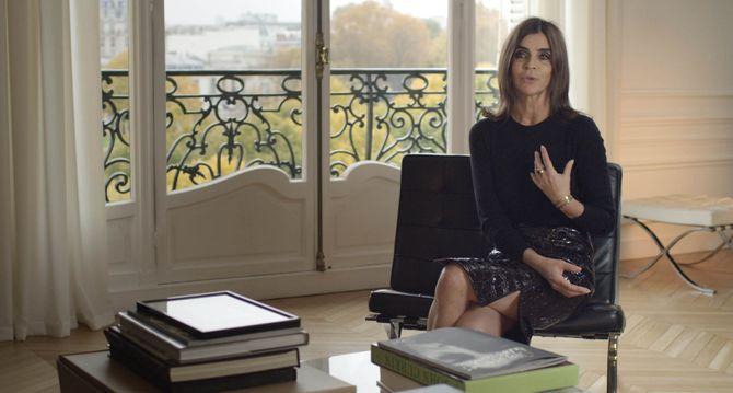 Carine Roitfeld se raconte dans Mademoiselle C
