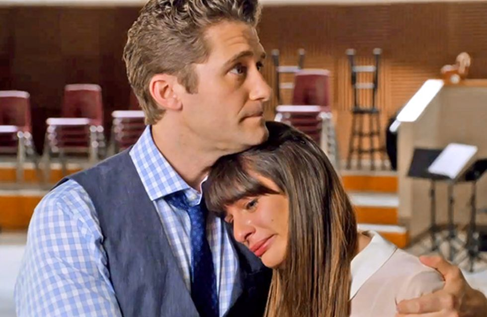 Glee : Les premières images de l'épisode hommage à Cory Monteith (photos et vidéo)