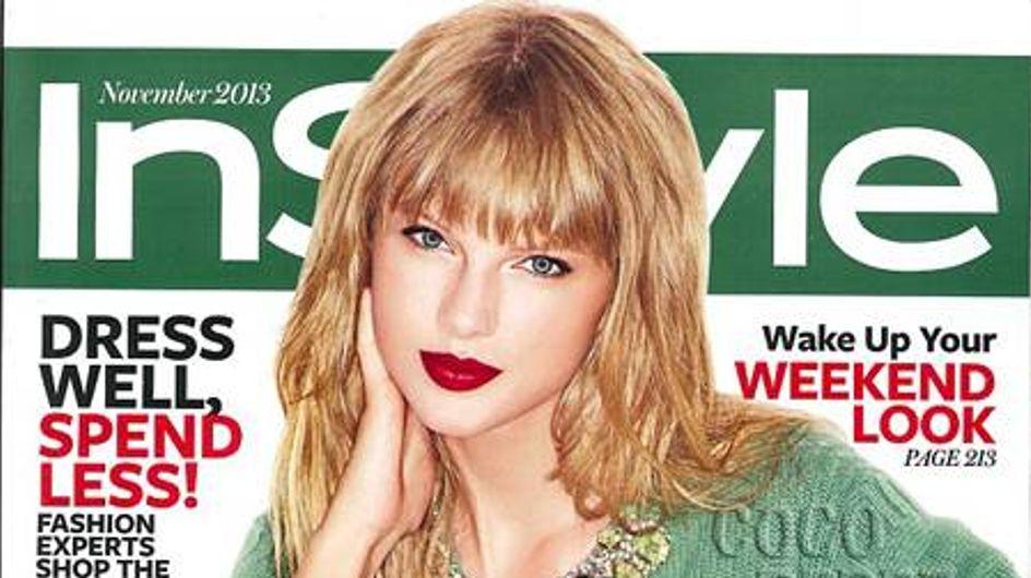 Taylor Swift, ravissante en couverture de InStyle