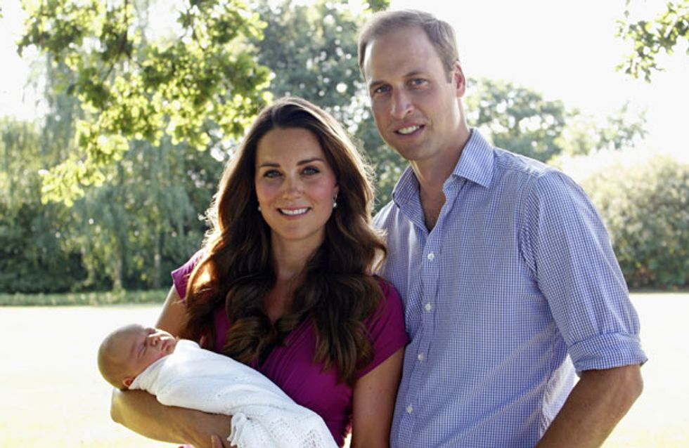 Kate Middleton and Prince William's controversial guest list for Prince George's christening