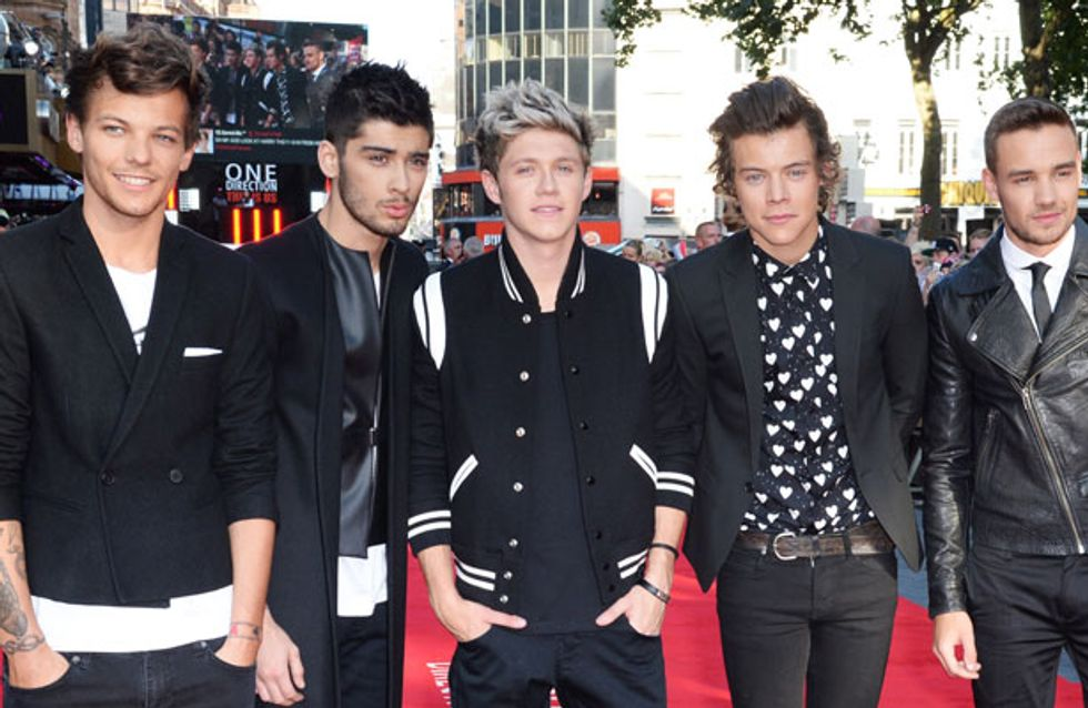 One Direction reveal the artwork for new 'Midnight Memories' album and 'Story Of My Life' single