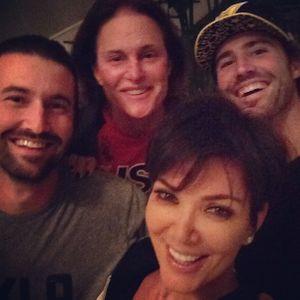 Kris Jenner, son ex et ses fils