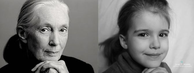 Emma dans la peau de Jane Goodall