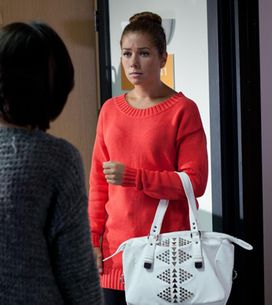 Hollyoaks 22/10 - Maxine's secret is out