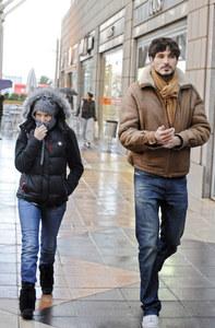 Andrés Velencoso y Kylie Minogue