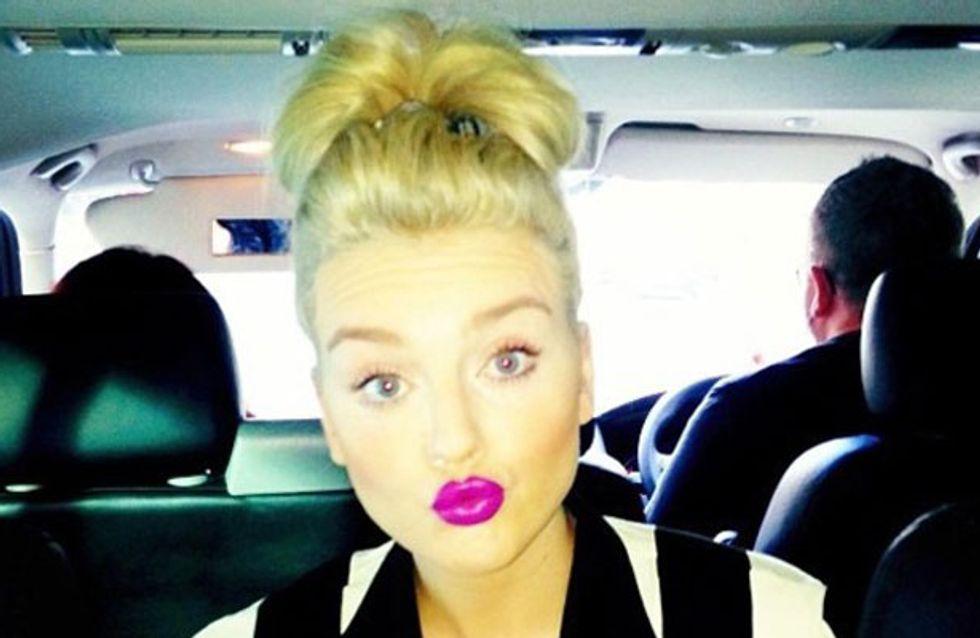 Little Mix's Lips: Get Perrie Edwards' Purple Power Pout