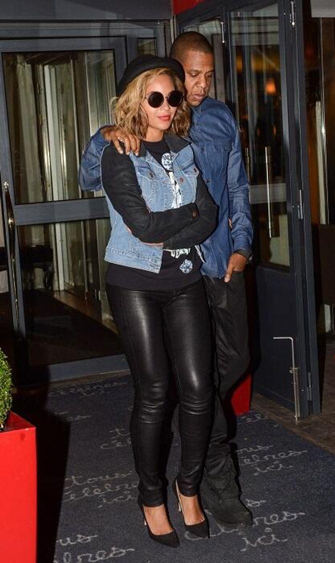 Beyoncé et Jay Z, de passage à Paris pour une pause gourmande