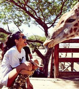 Rihanna : Son safari en Afrique du Sud (Photos)