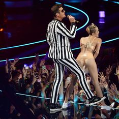 Robin Thicke blames VMA Awards twerking incident on Miley Cyrus