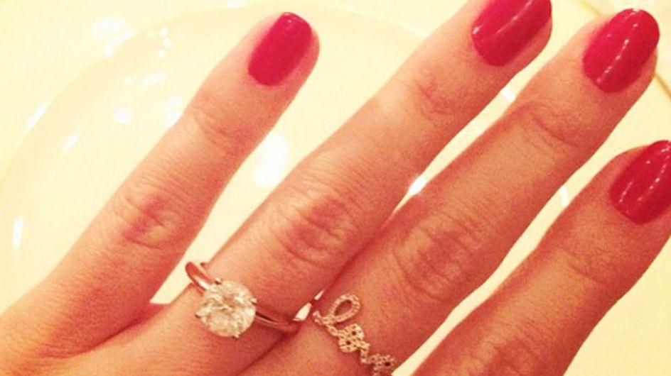 Congrats! Lauren Conrad flashes her engagement ring