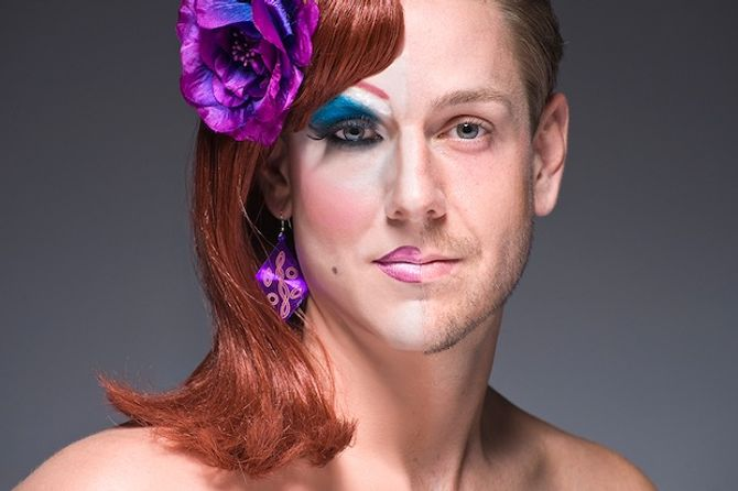 Portraits de drag queens