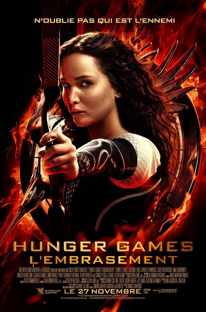 Hunger Games 2 affiche