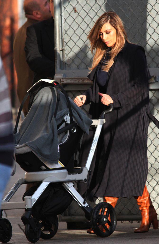 Kim Kardashian nach ihrer Schwangerschaft