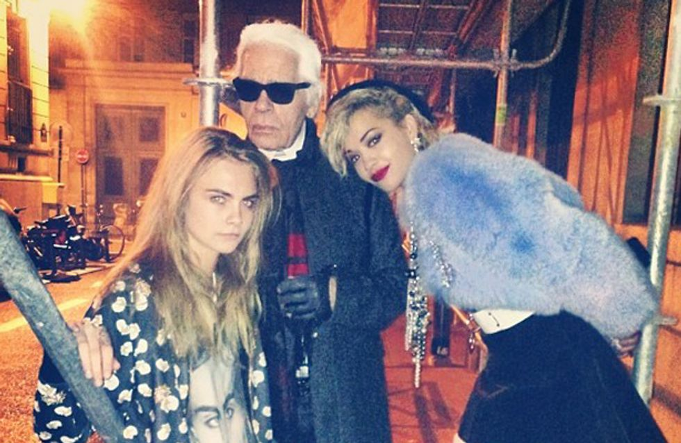 Is Rita Ora the new face of Chanel?