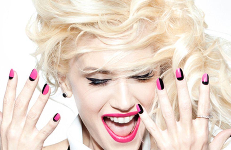 Get Gwen Stefani's punk-inspired manicure