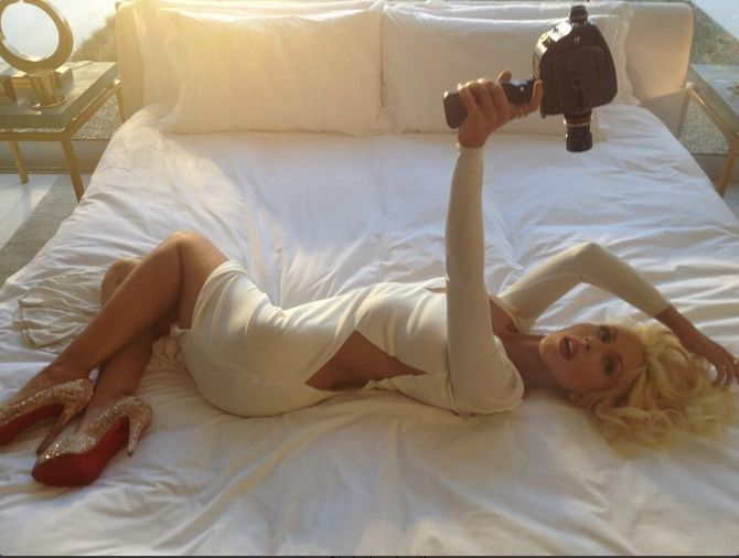 Christina Aguilera pour Unforgettable
