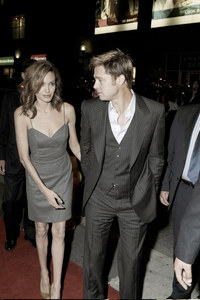 Angelina Jolie et Brad Pitt en 2007