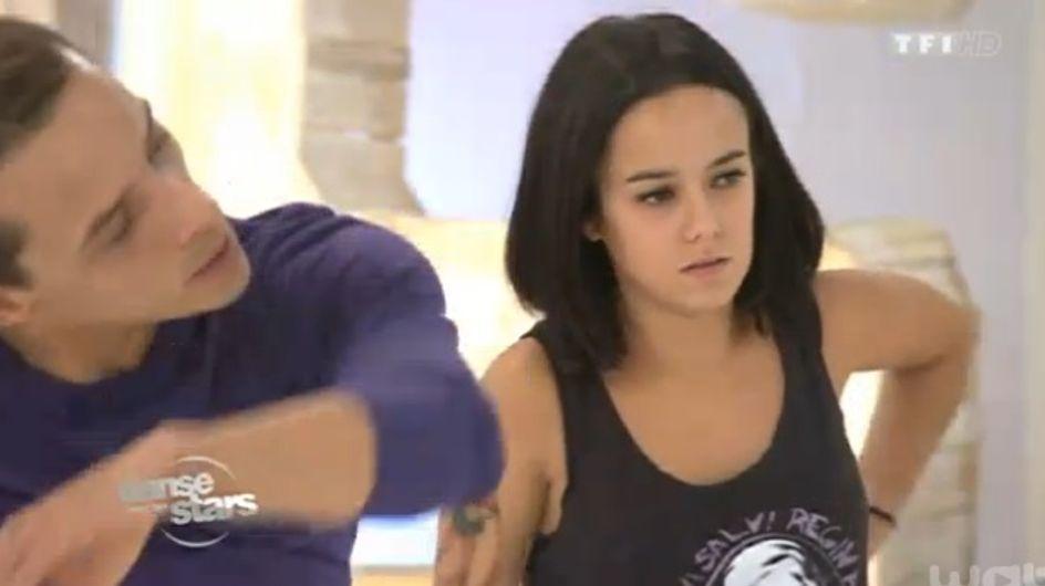 Danse avec les stars 4 : Alizée blessée au dos (vidéo)