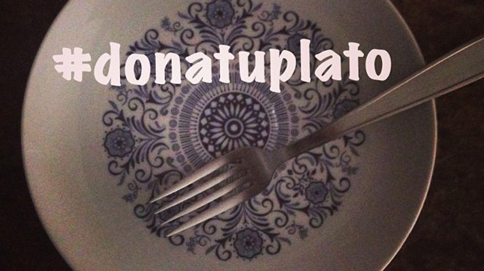 #DonaTuPlato, la iniciativa solidaria que arrasa en Internet