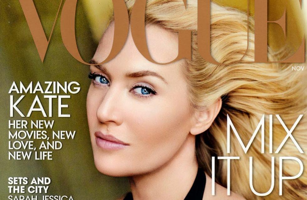 Kate Winslet, photoshopée à l'excès en Une du Vogue US