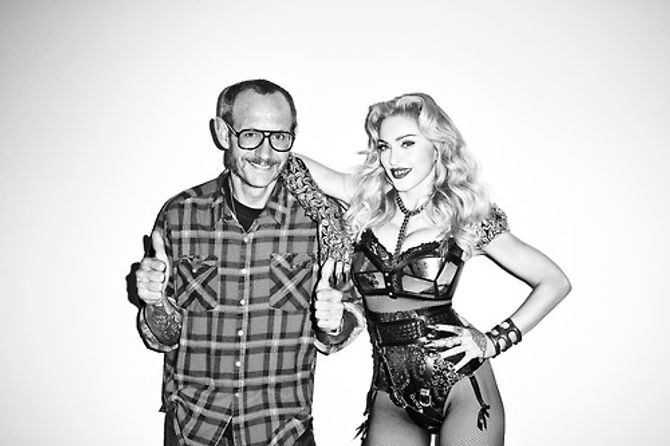Madonna par Terry Richardson