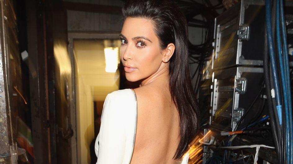 Kim Kardashian : Elle exhibe ses fesses sur Instagram (Photo)