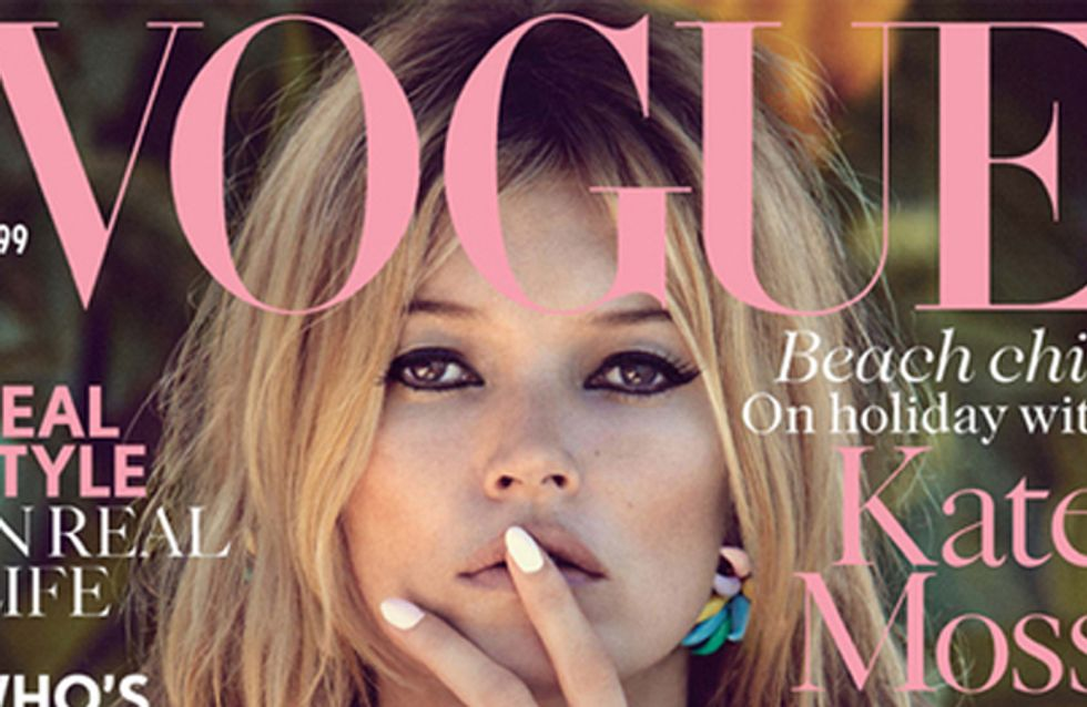 Kate Moss joins Vogue as Contributing Fashion Editor