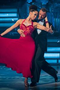 Natalie Gumede and Artem Chigvintsev
