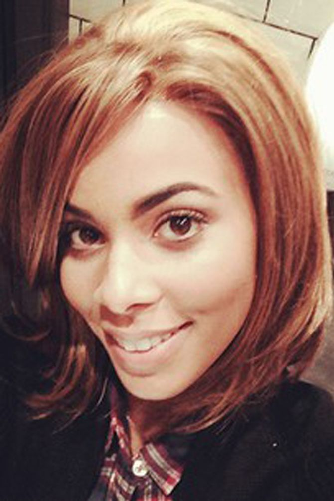 The Saturdays' Rochelle Humes debuts new short hair!