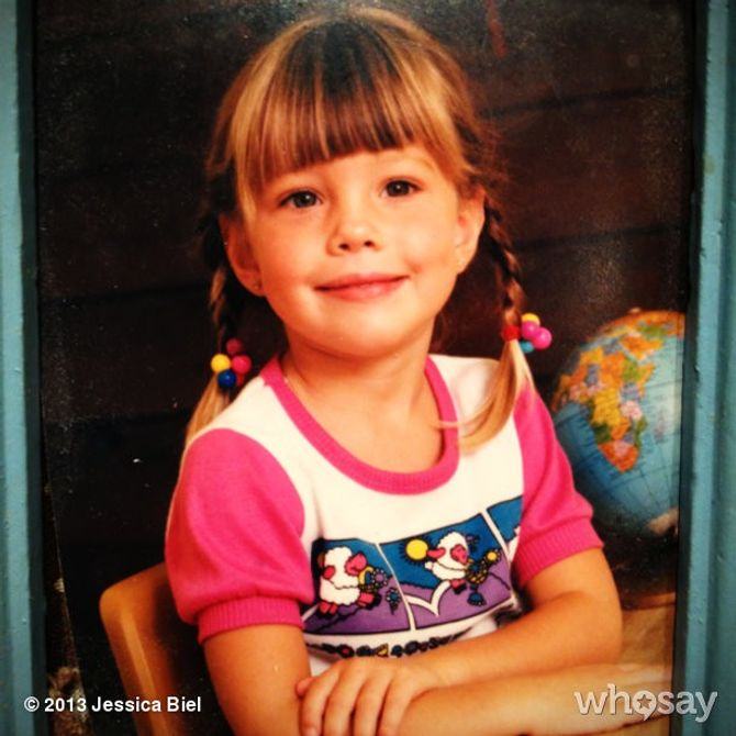 Jessica Biel enfant