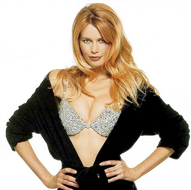 Claudia Schiffer, Fantasy Bra, Victoria's Secret (1996)