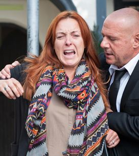 Hollyoaks 28/10 – An outburst interrupts the memorial