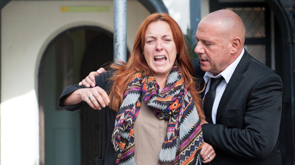 Hollyoaks 28/10 – An outburst interrupts the memorial