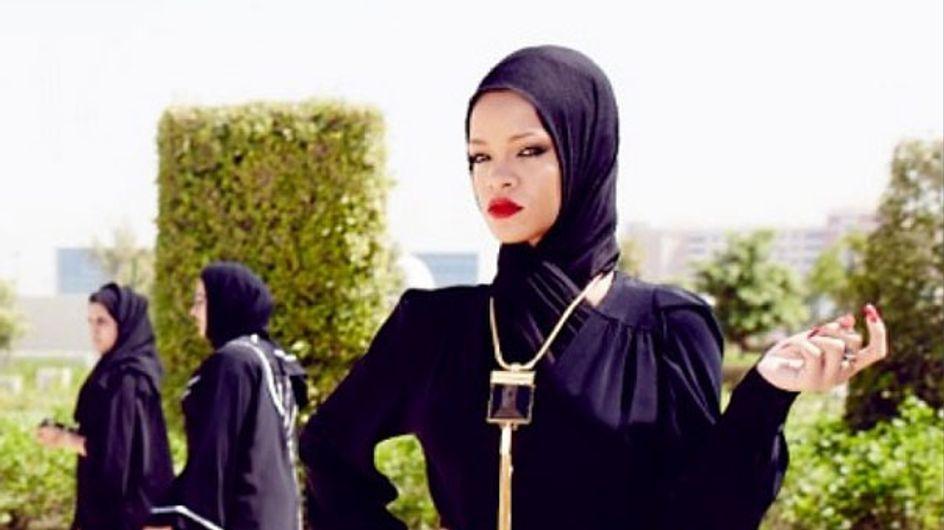 La última provocación de Rihanna en Abu Dhabi
