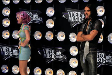 Katy Perry y su ex Russell Brand