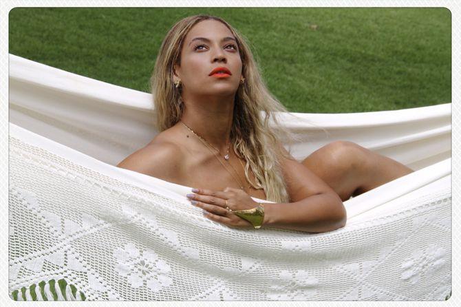 Beyoncé nue
