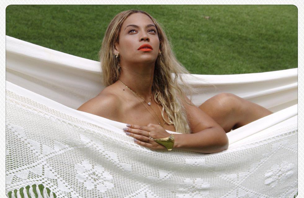 Beyoncé : Nue dans son hamac (photo)