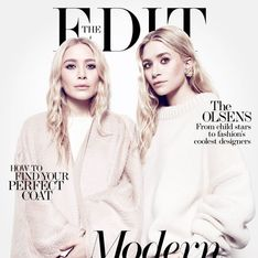 Les sœurs Olsen assurent en couverture de The Edit